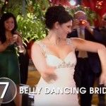 כלה רוקדת ריקודי בטן