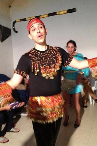 רקדן בטן לחינה