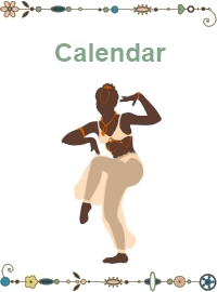 belly dance calendar