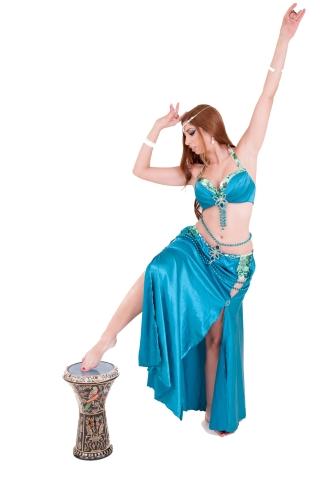 רקדנית בטן בקריות