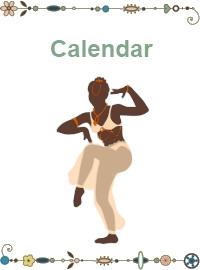 belly dance calendar