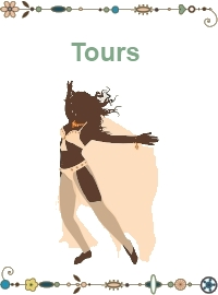 Belly dance tours